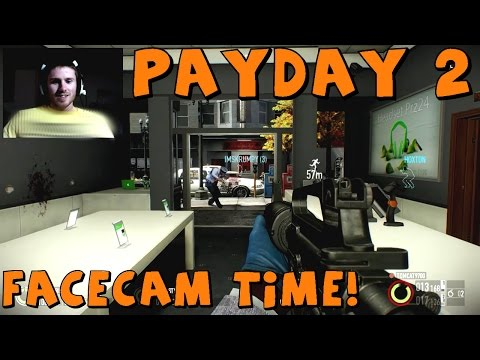 3 Idiots Play: Payday 2 | Jewelry Store With Facecam! video