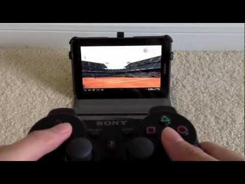 Samsung Galaxy Tab 2 7.0 + PS3 Controller