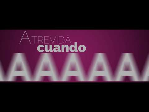 Ángel y Delta - Atrevida [video letra oficial]