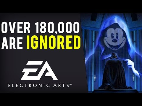 Over 180,000 Want Disney/EA Star Wars Deal Ended BUT EA Claims Disney Fully Supports Them...