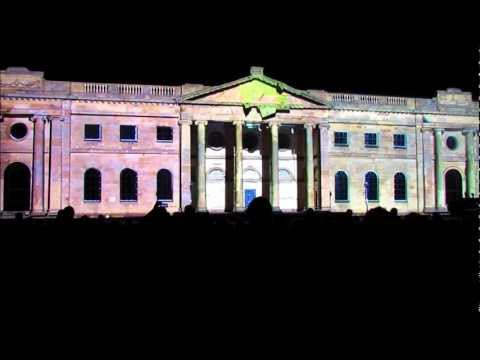 Envisions United VJs - best full recording 720p hd - castle museum illuminating york 2011 envision