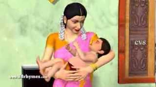 Amma 3D - Edavaku Edavaku - 3D Animation Telugu Nursery Rhyme for children