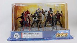 Avengers: Infinity War Disney Deluxe Figurine Set Review