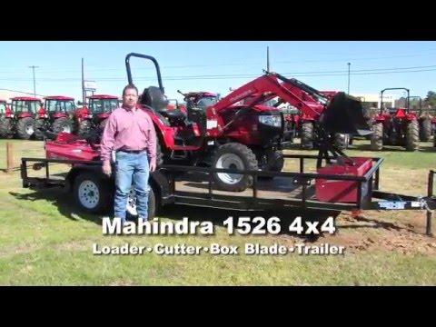 Mahindra 1526 package