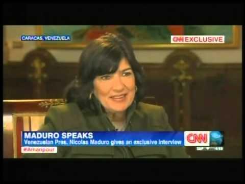 Maduro dice a CNN que duerme