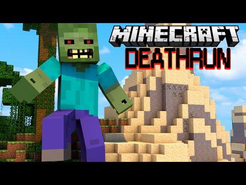 ЗОМБИ РАЗДАВИЛ ЛЮДЕЙ - Minecraft Deathrun (Mini-Game)