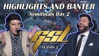 Tasteless and Artosis - GSL 2019 Season 2 Semifinals Day 2 - Highlights and Banter
