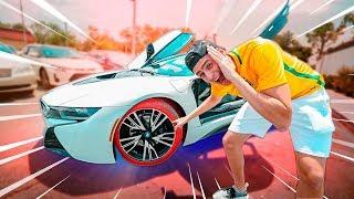 O PNEU DA MINHA  BMW I8 FUROU !!! ‹ JonVlogs ›
