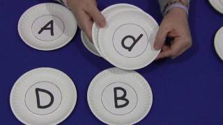 Paper Plate Letters