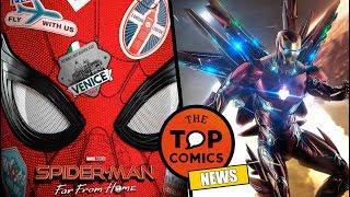 Nuevo tráiler Far From Home l Rumores Avengers Endgame l Captain Marvel