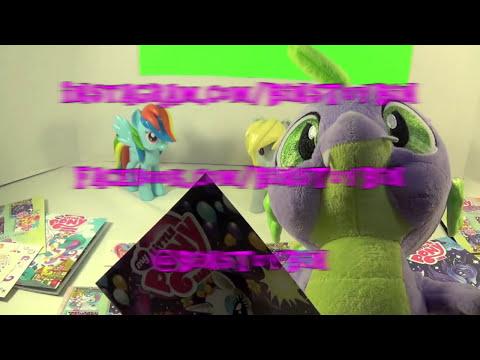 My Little Pony Micro Comics Fun Packs! Rarity, Luna, Celestia & Fluttershy! by Bin's Toy Bin