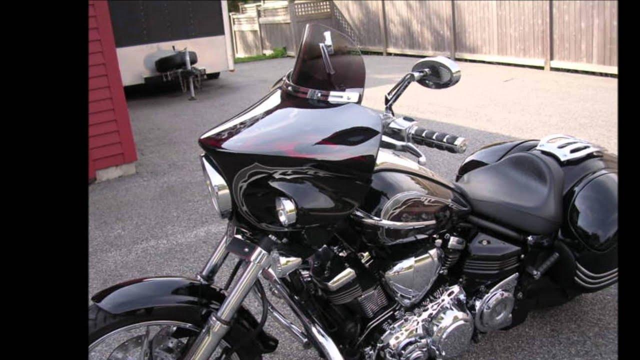 Custom Fairing For Yamaha Raider