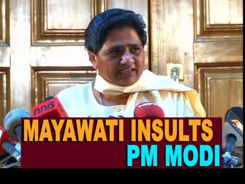 Mayawati insults PM Modi