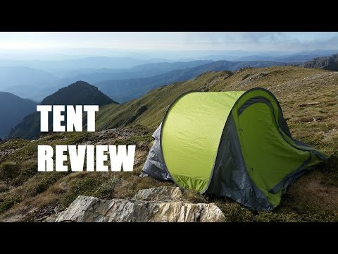 KMART 3 Man Pop up Tent Review. the