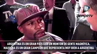 DXTV NOTICIAS - NOTA EXCLUSIVA A FLOYD MAYWEATHER