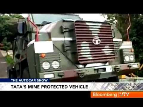 टाटा मोटर्स - Mine Protected Vehicle - TATA MOTORS