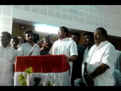 Shri karti p chidambaram speech at thanjavur-