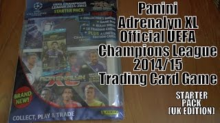 UK PREMIERE! Adrenalyn XL UEFA Champions League 2014/15 Trading Cards ☆ STARTER PACK opening