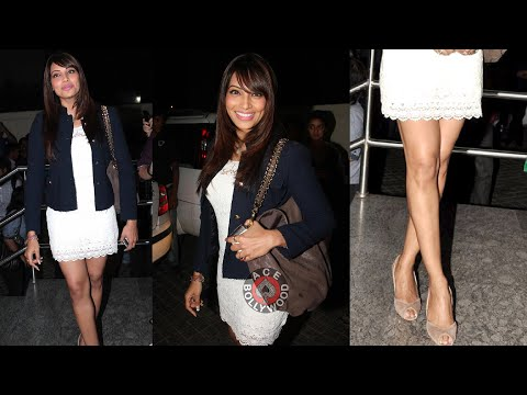 Bipasha Basu Sexy Legs Tight Butts - Race 2 Screening video