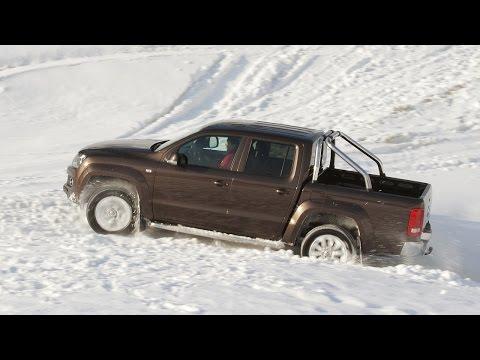 Тест-драйв Volkswagen Amarok — Снег