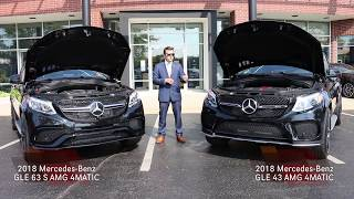 2018 Mercedes Benz AMG® GLE 43 4MATIC® and AMG® GLE 63 4MATIC®
