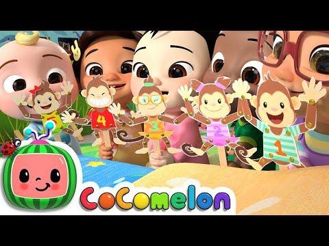 Five Little Monkeys   CoCoMelon Nursery Rhymes & Kids Songs