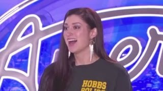 Hobbs Police Officer auditions for American Idol