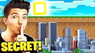 I Found PrestonPlayz SECRET Underground Minecraft City!