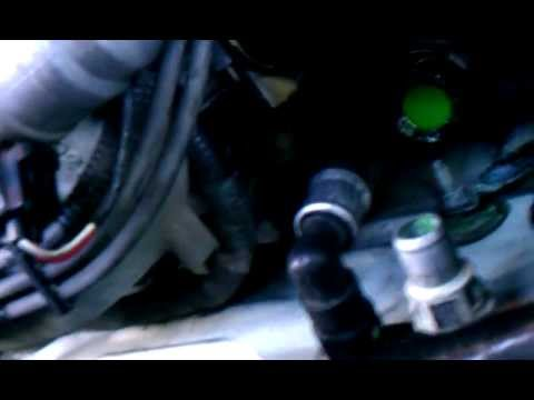 2003 Ford Mustang Heater hose removal using heater hose removal tool