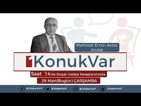 1HaberVar KCK Ana Dava Avukatlarından Av.Mehmet Emin Aktar değerlendiriyor