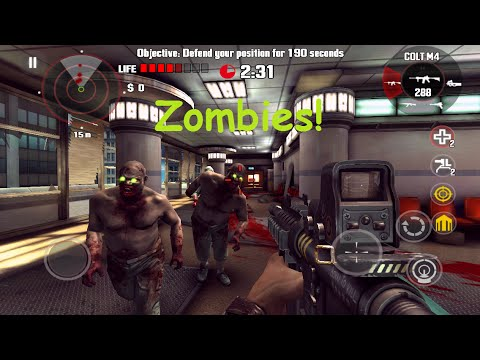 Top 5 FPS Zombie Games iOS & Android 2018