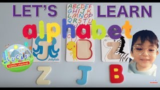 Lucas' Kiddie Channel - Learn ABC Animals Wood Letters & Pictures