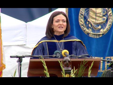 Sheryl Sandberg Gives UC Berkeley Commencement Keynote Speech