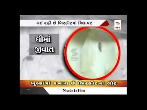 Sandesh News: Biscuit making bakery's bad condition at Ahmedabad