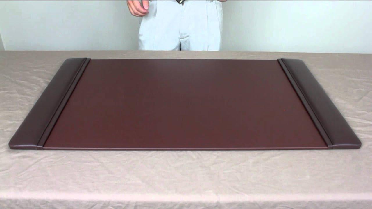 Officeaccessoriesplus leather desk pads youtube - Protector de mesa escritorio ...