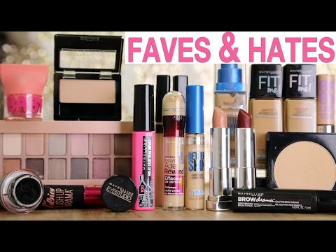 DRUGSTORE MAKEUP Favorites & Hate it's | Maybelline