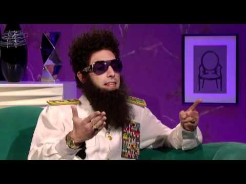 Alan Carr Chatty Man Sacha Baron Cohen