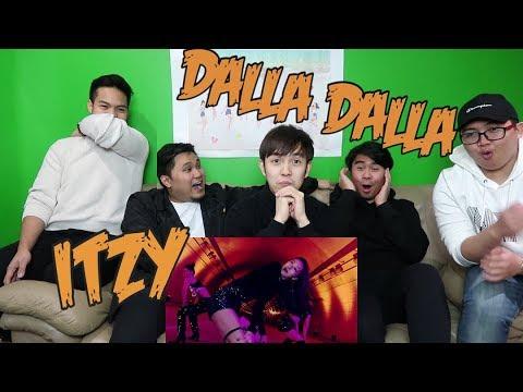 ITZY - DALLA DALLA MV REACTION FUNNY FANBOYS