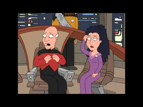 Family Guy - Deleted Scene: Star Trek TNG