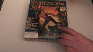 Unboxing Wolfenstein 3D PC Big Box