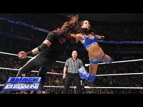 The Bella Twins vs. AJ & Tamina: SmackDown, March 28, 2014
