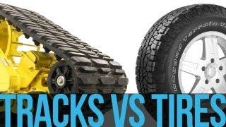 Ford F-350 - Tracks vs Tires