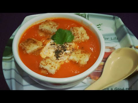 Resturant Style Tomato Soup