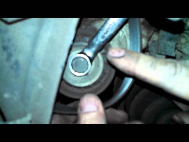 Serpentine belt replacement 2003 Mazda 6 2.3L Install ...