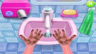 Game Hay Vui Nhộn Cho Bé – Bé Rửa Tay, Gội Đầu, Làm Sạch Mùi Hôi Chân