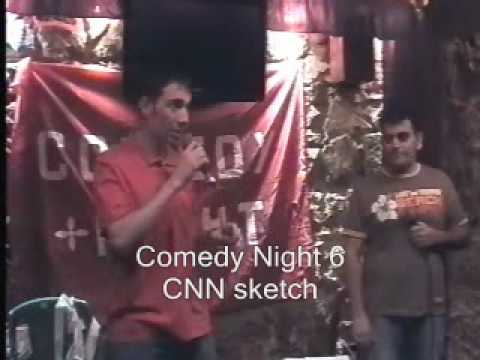 How CNN Makes News - Narek & Sergey - Comedy Night