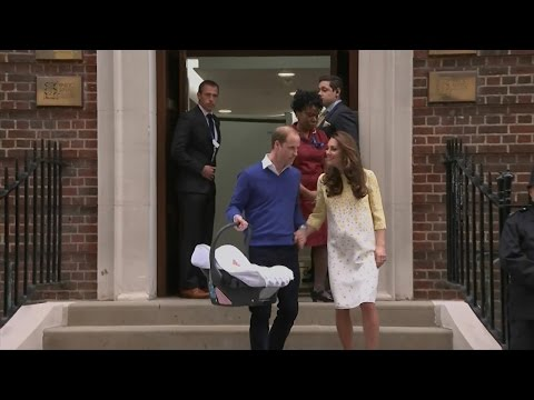 Kate Middleton, Prince William Leave Hospital With Their Baby Girl