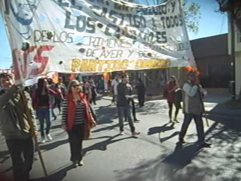 Marcha 24 de Marzo de 2015 - Río Gallegos, Santa Cruz