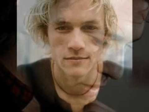 Heath Ledger his voice