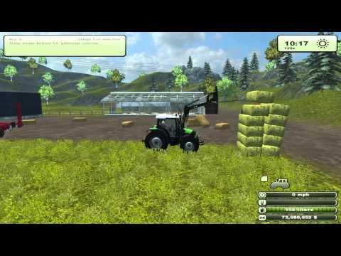 Feeding Cows 1   Farming Simulator 2013   HD